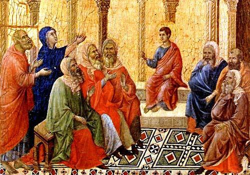 Gesù è ritrovato nel tempio  (5 Mistero della gioia)