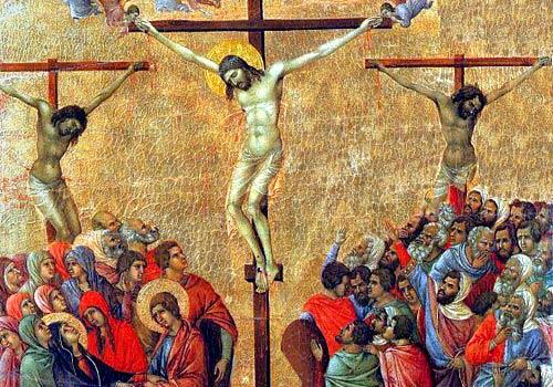 Gesù muore sulla croce ( 5 Mistero del dolore)