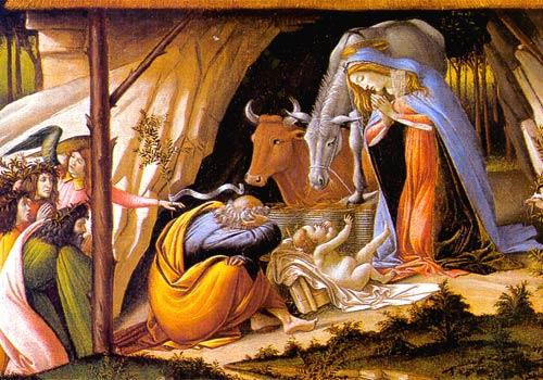 La nascita di Gesù a Betlemme  (3 Mistero della gioia)