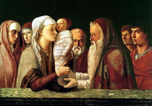 La presentazione del Signore  (4 Mistero della gioia)
